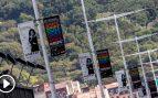 Vista de los paneles este martes en San Sebastián donde se colocan los carteles de las películas del Festival Internacional de Cine de San Sebastián, cuya 67 edición se celebrará entre el 20 y el 28 de septiembre. Foto: EFE