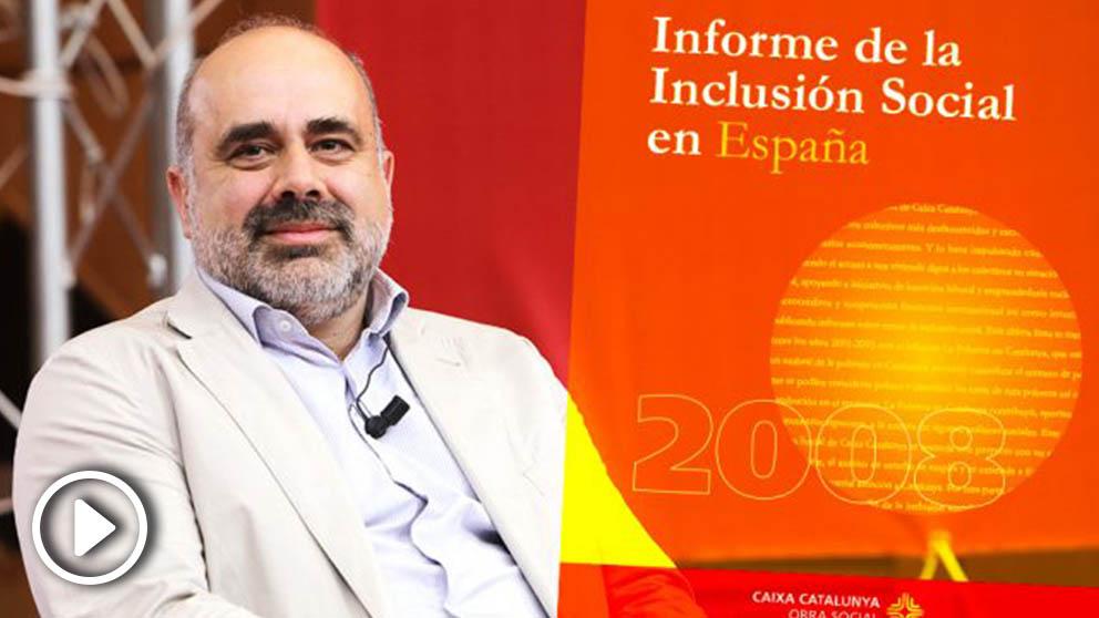 Pau Marí-Klose fulisó en su tesis contenido del 'Informe de la inclusión social en España 2008', editado por Caixa Catalunya.