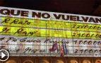 Podemos no será multado tras proyectar publicidad electoral en la Plaza Mayor