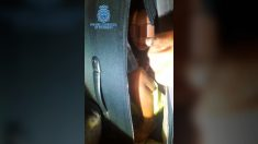 El niño de ocho años escondido en una maleta en Melilla.