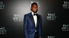 Samuel Eto'o, en la gala The Best. (Getty)