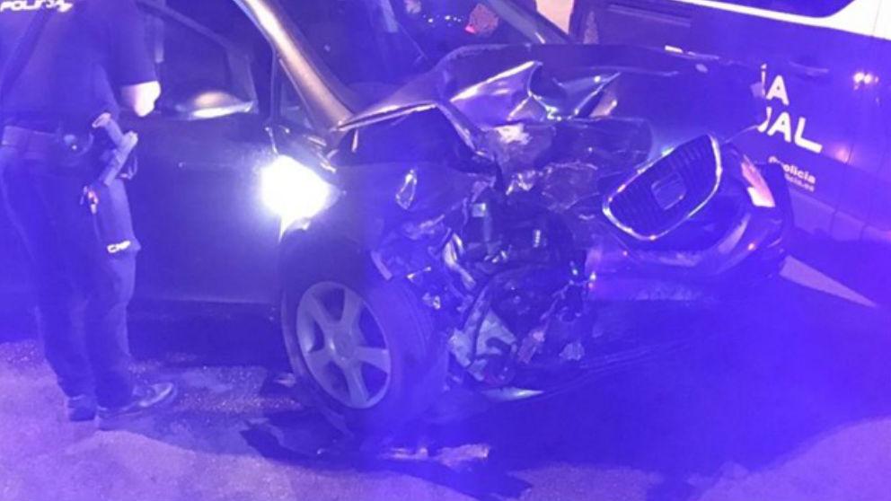 Accidente en la M50