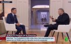 Pedro Sánchez en la entrevista en La Sexta