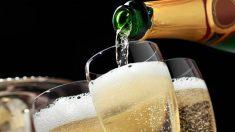 Todos los pasos para hacer champán casero