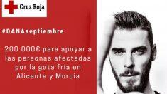 De Gea ha donado 200.000 euros para ayudar a los damnificados por la gota fría. (@CruzRojaEsp)