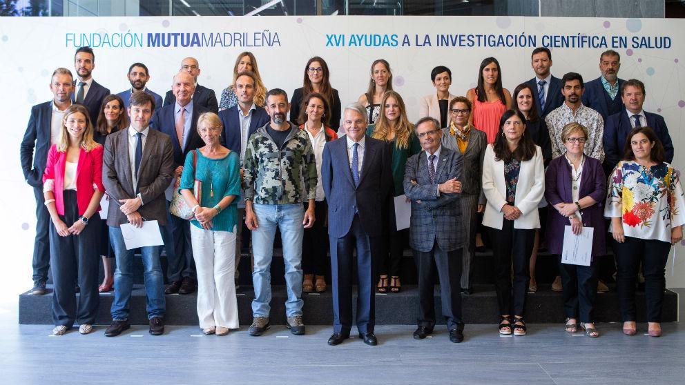 Entrega XVI Convocatoria de Ayudas Investigación Fundación Mutua