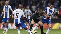 Espanyol – Ferencvaros. (AFP)