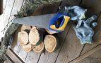 Pasos para hacer un espejo de troncos