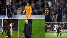 Los señalados del Real Madrid frente al PSG