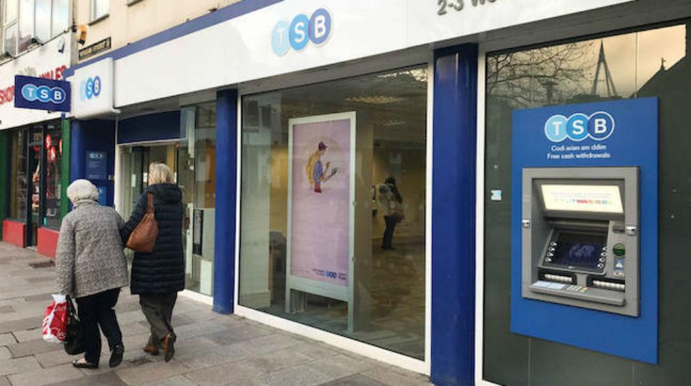 Sucursal de TSB, el banco adquirido por Sabadell en Reino Unido