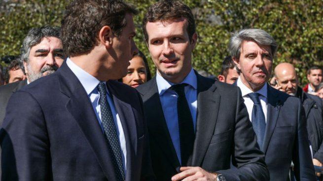 Albert Rivera y Pablo Casado, líderes de Ciudadanos y del PP, respectivamente @Getty