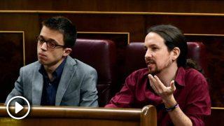 Pablo Iglesias e Iñigo Errejón en el Congreso cuando aún estaban juntos. @Getty
