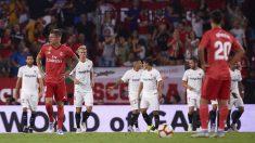 El Real Madrid ha perdido en las últimas cuatro visitas al Sánchez Pizjuán-(Getty)