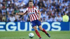 Marcos Llorente, en un partido con el Atlético. (Getty)