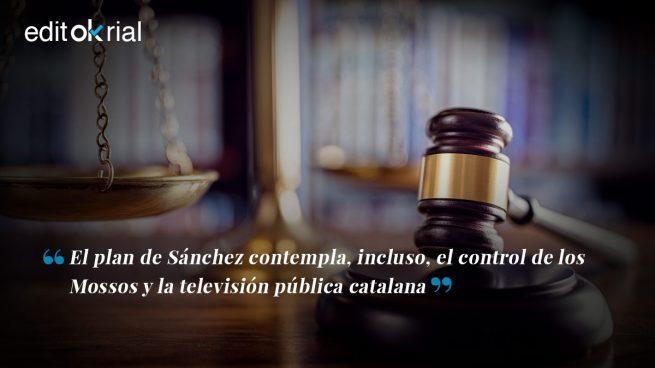 Sánchez disuade al independentismo con la amenaza de un 155 «duro»