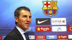 Robert Fernández como secretario técnico del Barcelona (Fútbol Club Barcelona)
