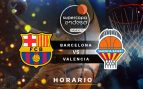horario barcelona valencia basket