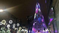 Alumbrado navideño de Vigo. Foto: Europa Press