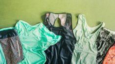 Guía de pasos para lavar la ropa deportiva