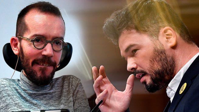 Pablo Echenique y Gabriel Rufián.