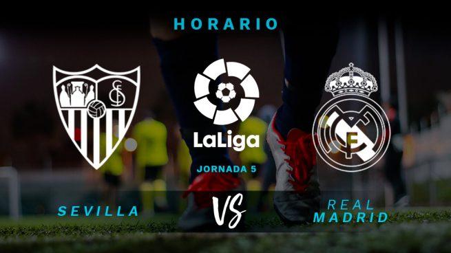 Sevilla – Real Madrid: horario y dónde ver por televisión el partido de hoy de la Liga Santander