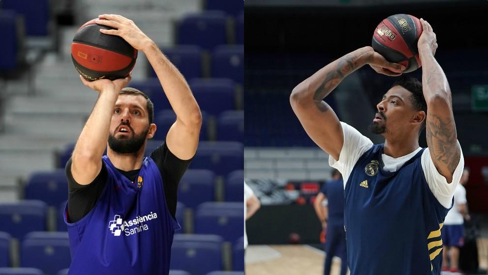 Nikola Mirotic y Jordan Mickey, fichajes de Barcelona y Real Madrid. (ACB)