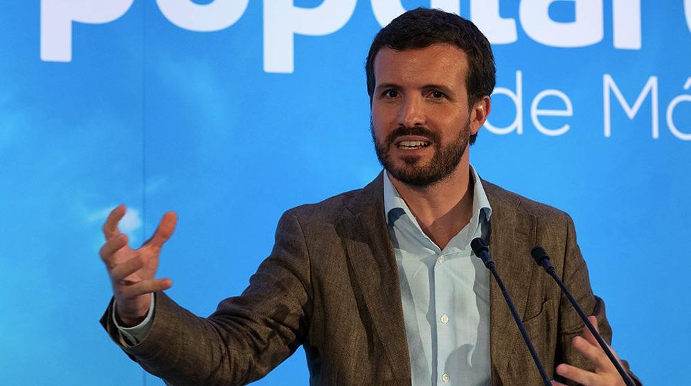 Pablo Casado en un mitin en Málaga. (Foto: PP)