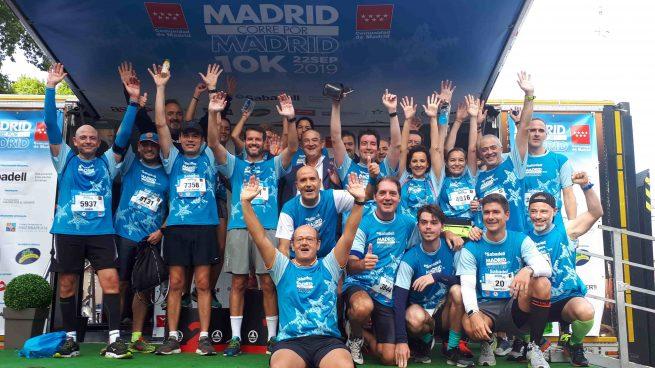 Más de 10.000 runners recorren los rincones más emblemáticos de la capital con Madrid Corre por Madrid