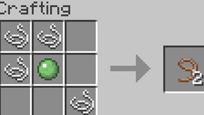 Cómo Hacer Un Lazo O Rienda En Minecraft Paso A Paso De