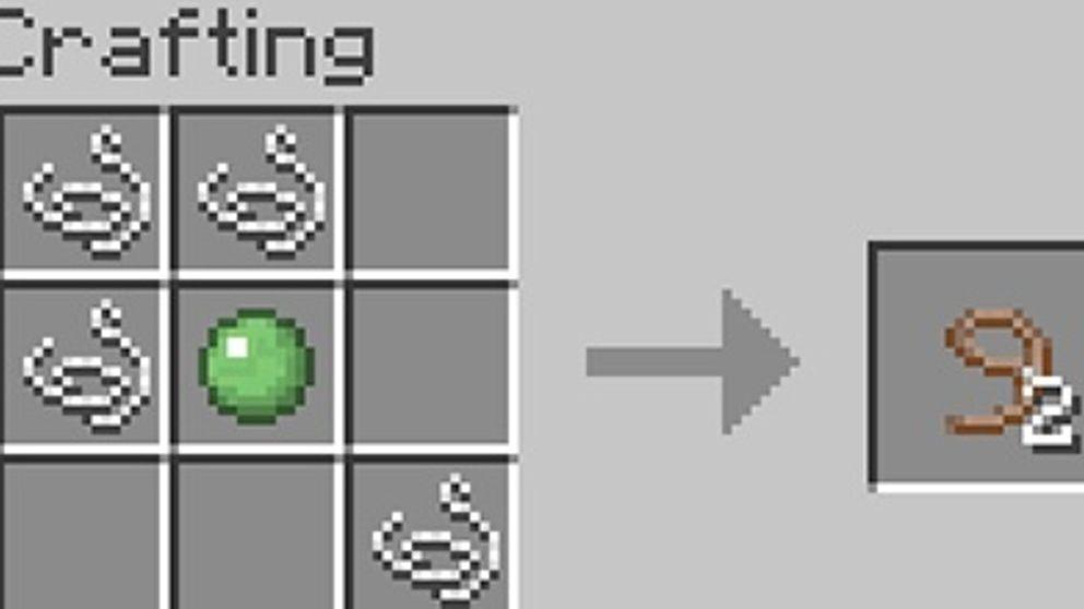 como hacer una cuerda en minecraft xbox 360