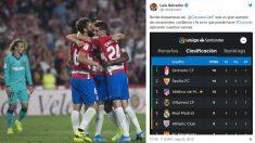 El-alcalde-de-Granada-felicitó-al-club-andaluz-tras-ganar-al-Barcelona-(AFP-y-Twitter)