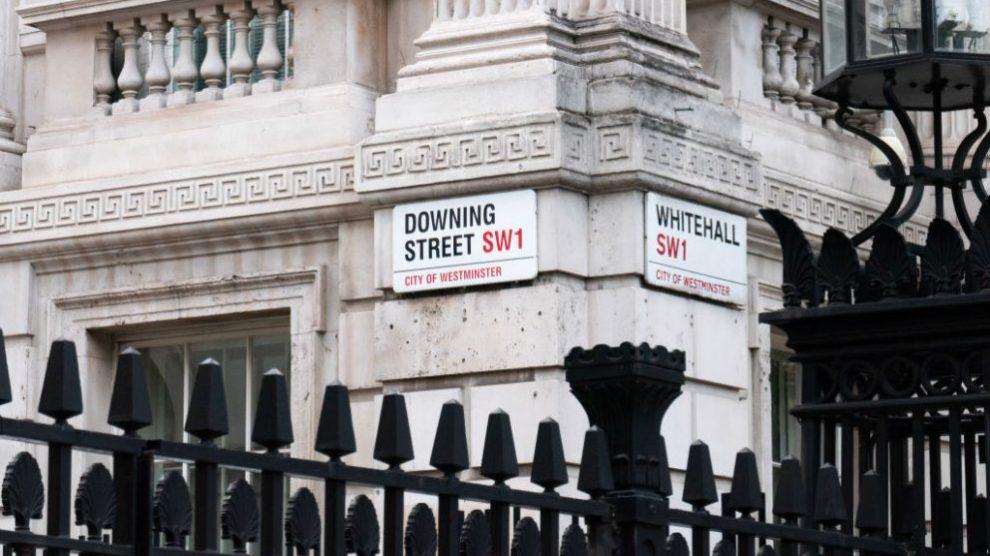 Downing Street, la residencia del primer ministro de Reino Unido @Getty