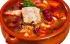 Sopa de frijol con carne de cerdo