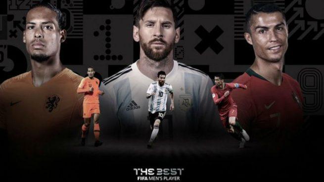 Cristiano, Messi o Van Dijk: ¿quién ganará el The Best?