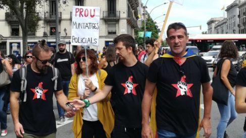 Eduard Garzón, a la derecha.