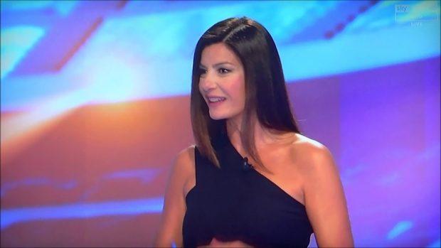 Ilaria D'Amico, la mujer de Buffon, presenta la gala The Best