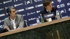 José Luis Pérez Caminero y Joaquín Jofre (Málaga Club de Fútbol)