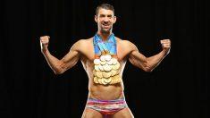 Michael Phelps es el deportista más laureado de todos los tiempos
