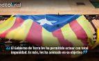 No son radicales, son terroristas alentados por la Generalitat de Cataluña