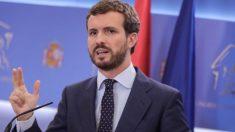 Pablo Casado, líder del PP @Getty