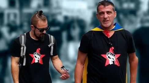 David Budria (izquierda) y Eduard Garzón (derecha).