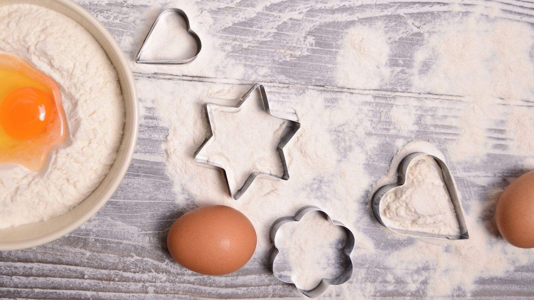 Cómo hacer moldes caseros para galletas