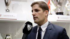 Robert Moreno en el Sánchez Pizjuán (Sevilla Fútbol Club)