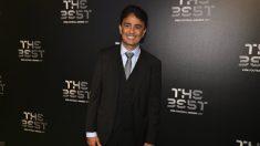 Bebeto durante la gala The Best (AFP)
