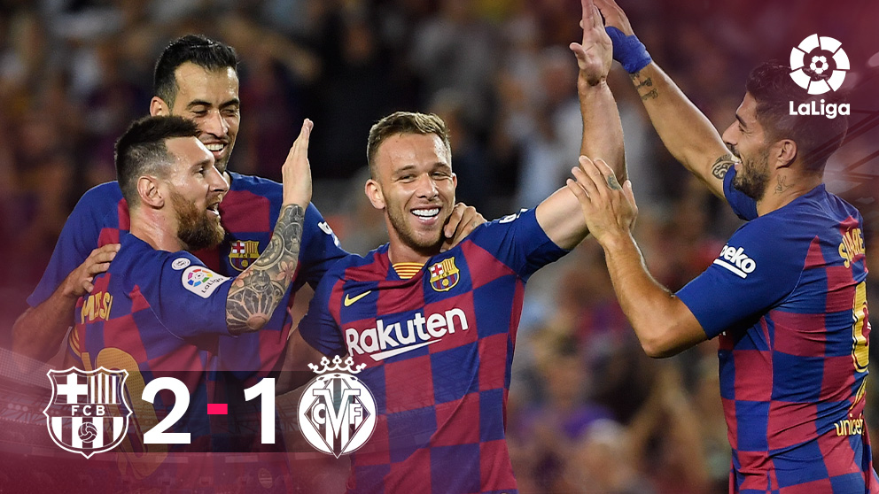 El Barça se adelantó muy pronto en el marcador y supo aguantar su renta.