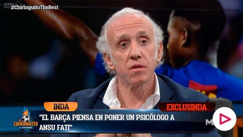 Eduardo Inda desveló los planes del Barça con Ansu Fati.
