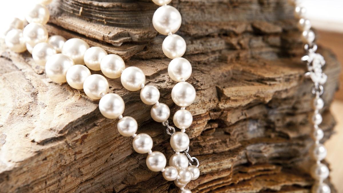 Limpiar collar de perlas