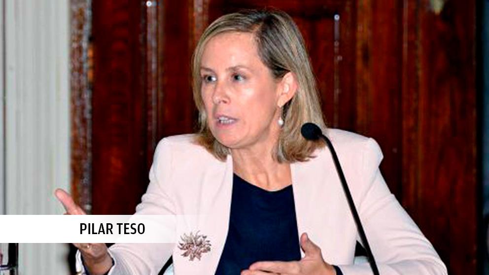 La magistrada Pilar Teso.