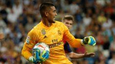 Areola estuvo notable en su debut con el Real Madrid. (EFE)