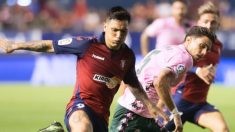 Chimy Ávila en un partido ante el Betis (@Chimy337)